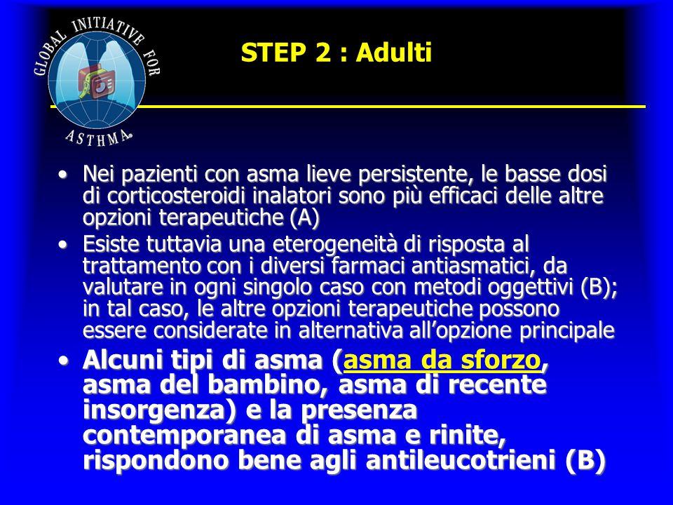 STEP 2 : Adulti
