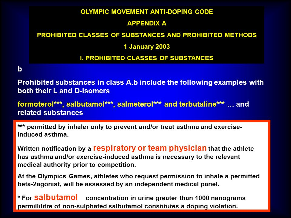 OLYMPIC MOVEMENT ANTI-DOPING CODE