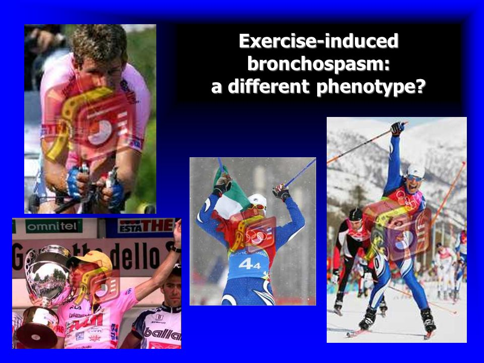 Exercise-induced bronchospasm: a different phenotype