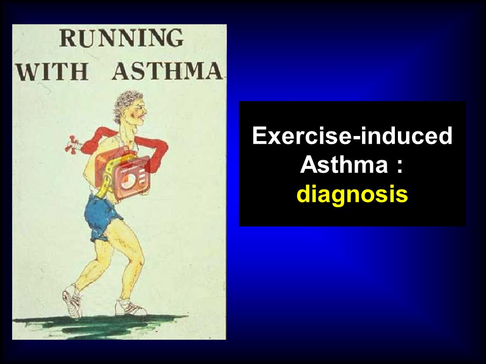 Exercise-induced Asthma : diagnosis