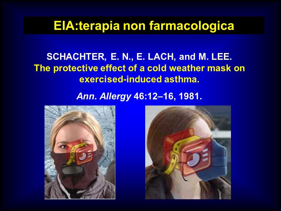 EIA:terapia non farmacologica