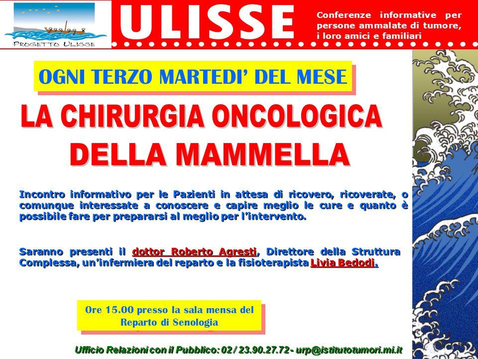 LA CHIRURGIA ONCOLOGICA DELLA MAMMELLA