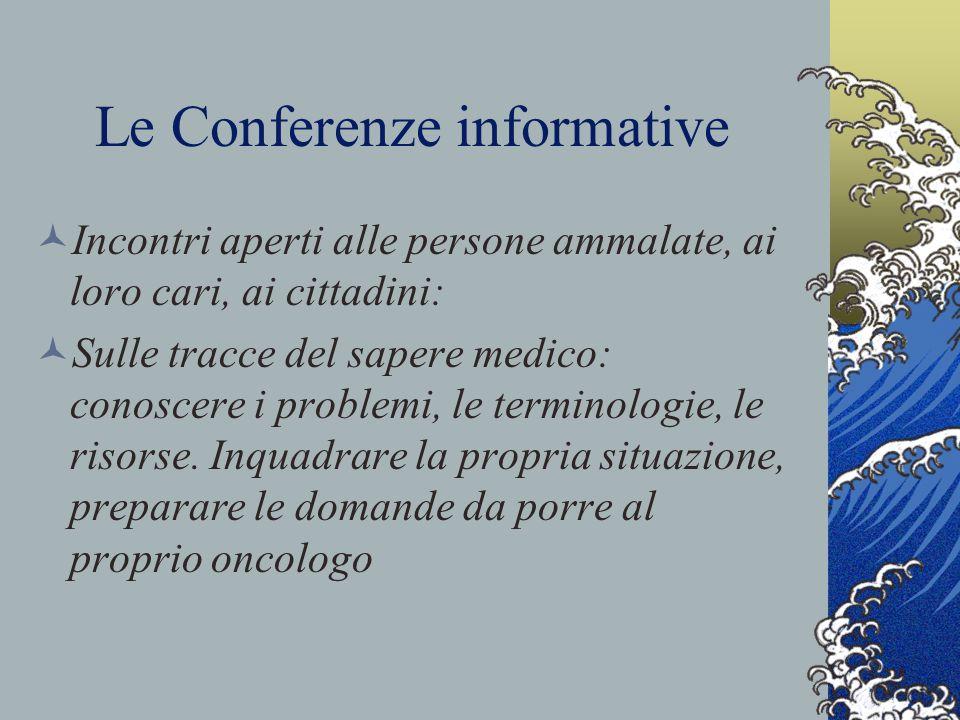 Le Conferenze informative