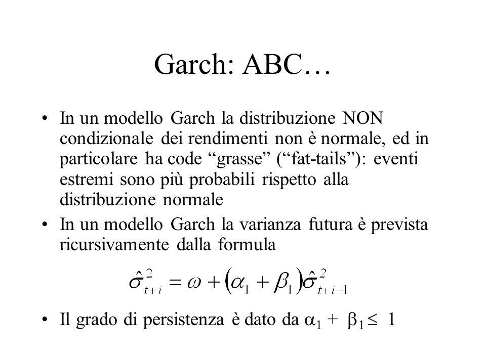 Garch: ABC…
