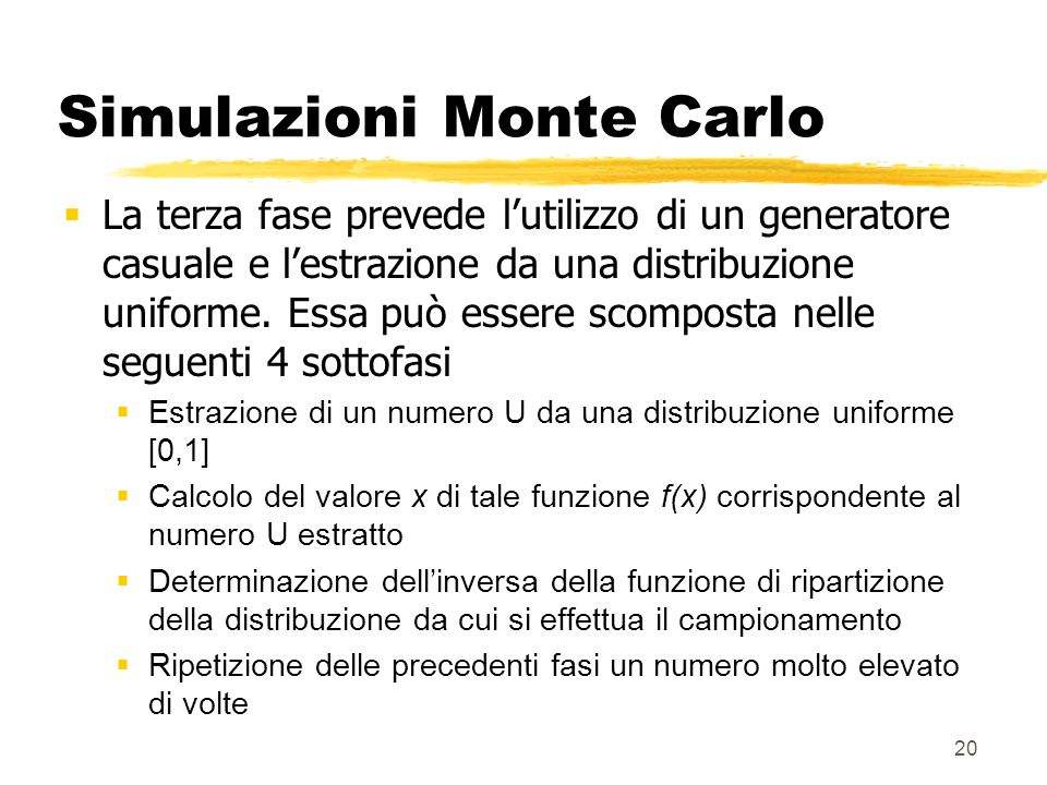 I rischi di mercato i modelli di simulazione lezione 9 ppt scaricare - Calcolo del valore catastale di un immobile ...