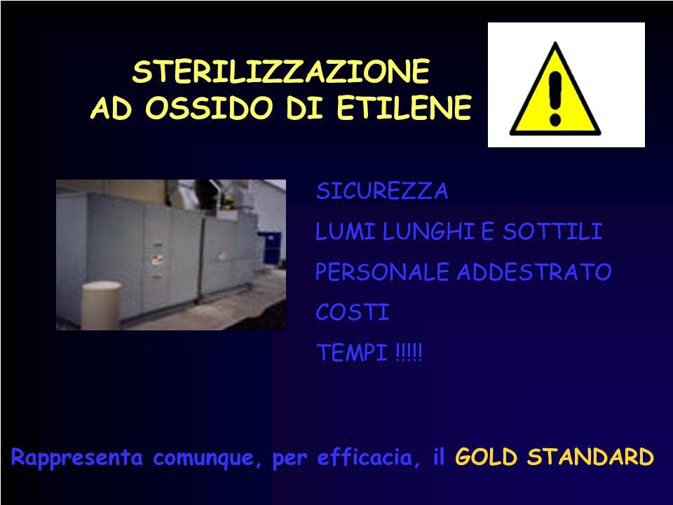 STERILIZZAZIONE AD OSSIDO DI ETILENE