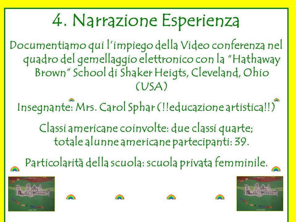4. Narrazione Esperienza