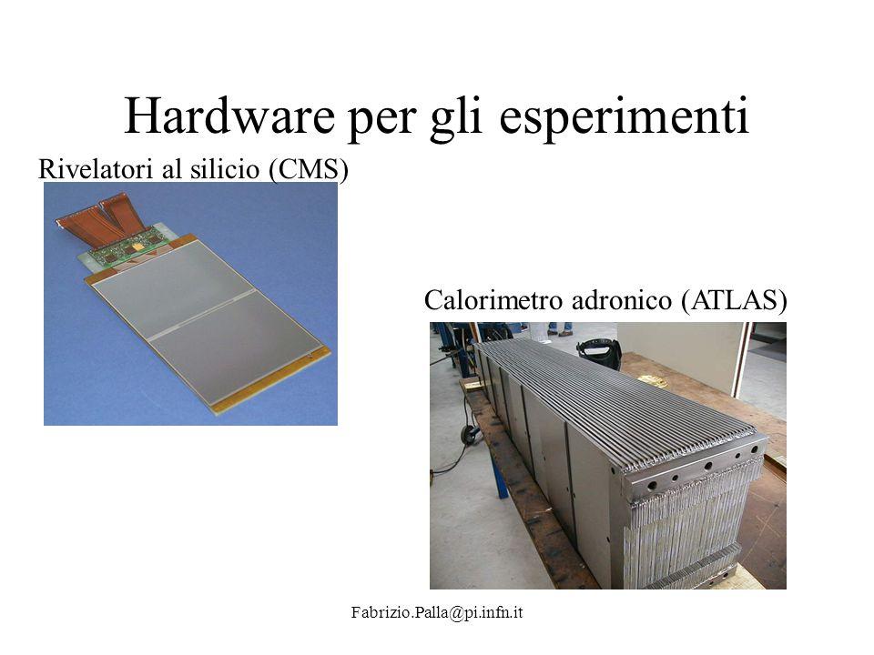 Hardware per gli esperimenti