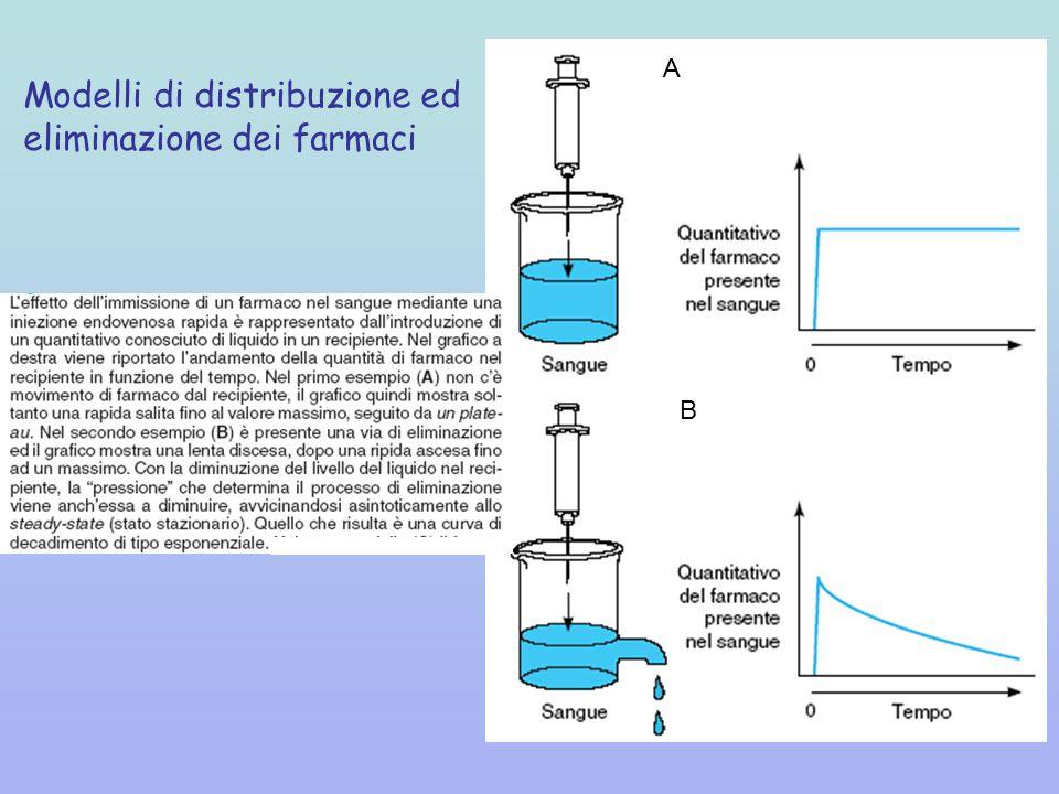 Modelli di distribuzione ed eliminazione dei farmaci
