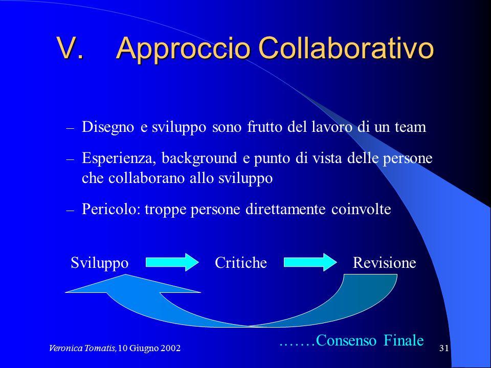 Approccio Collaborativo
