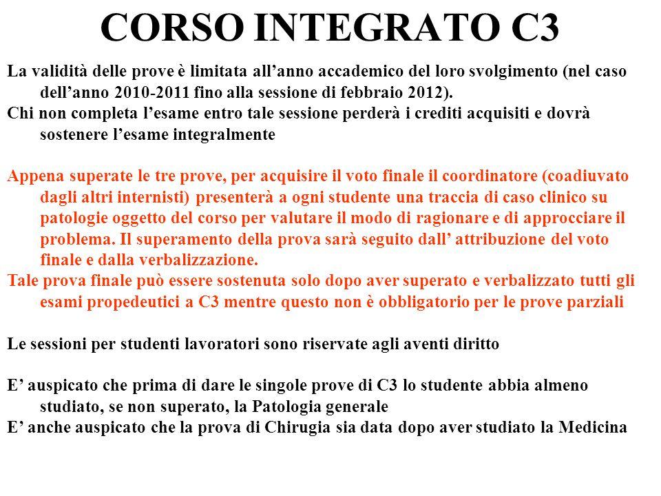 CORSO INTEGRATO C3