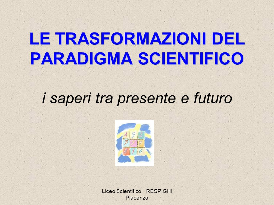 Liceo Scientifico RESPIGHI Piacenza