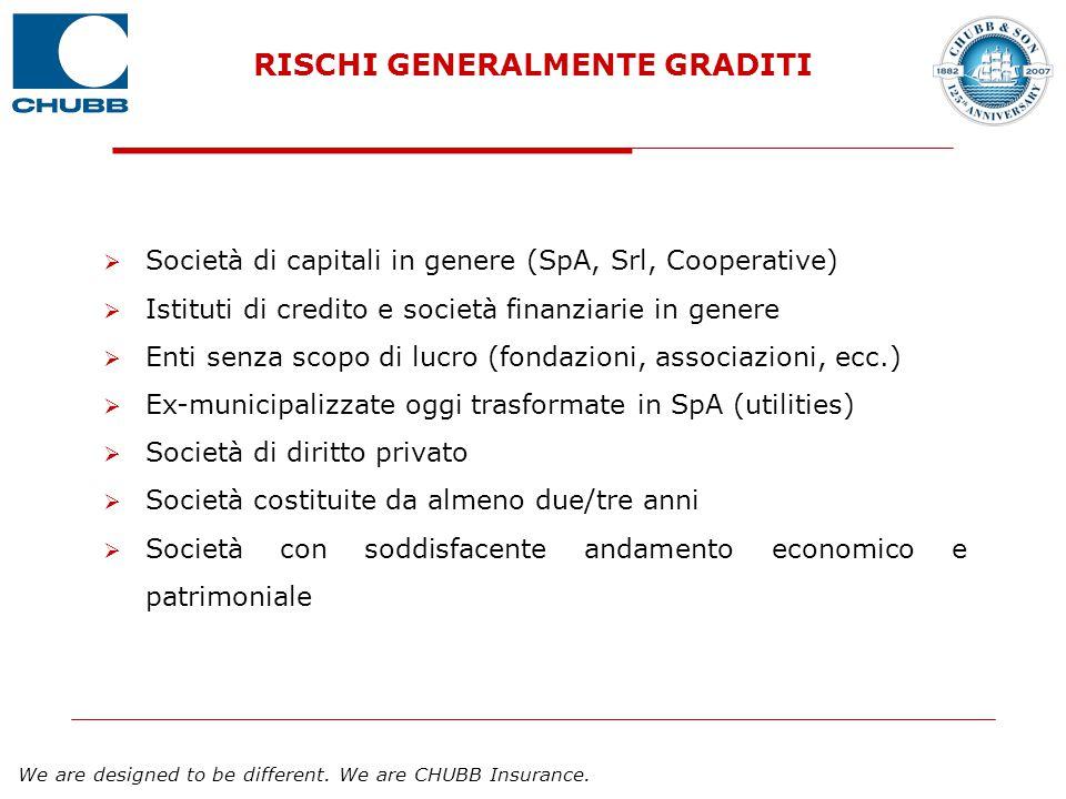RISCHI GENERALMENTE GRADITI