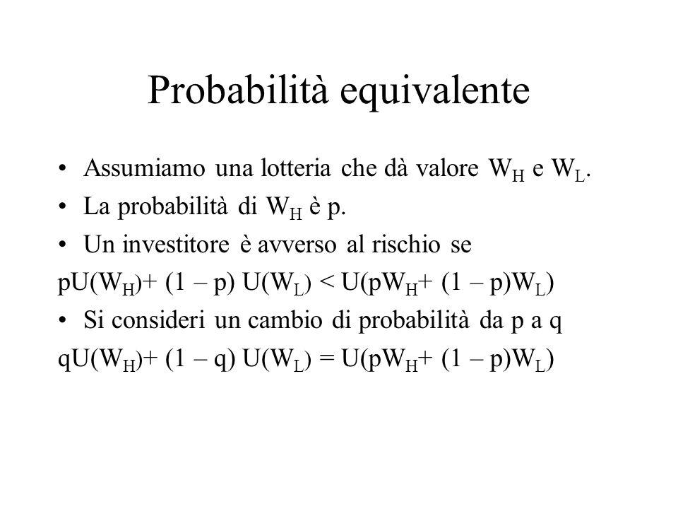Probabilità equivalente