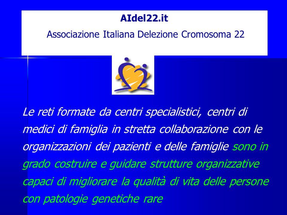 AIdel22.it Associazione Italiana Delezione Cromosoma 22