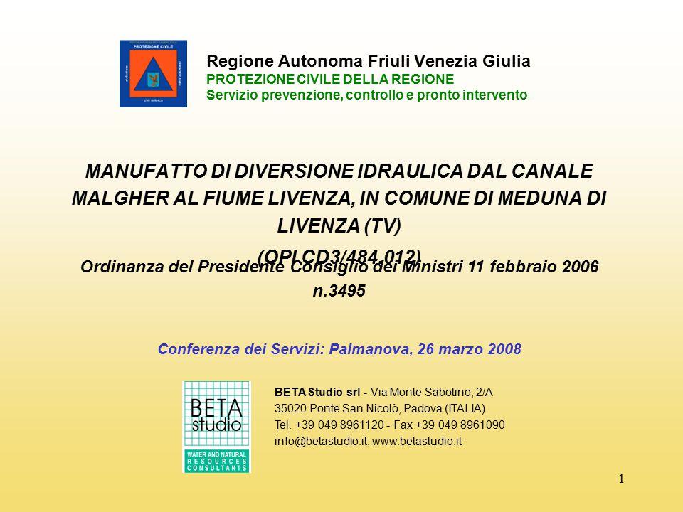 Conferenza dei Servizi: Palmanova, 26 marzo 2008