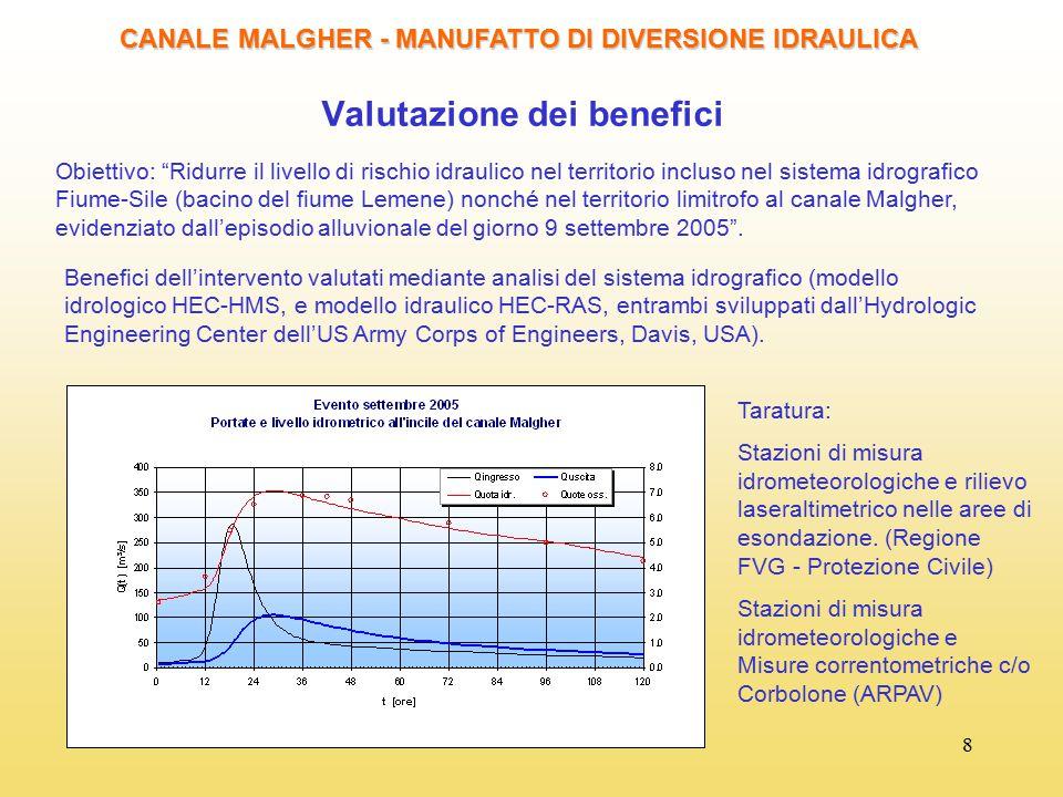 Valutazione dei benefici