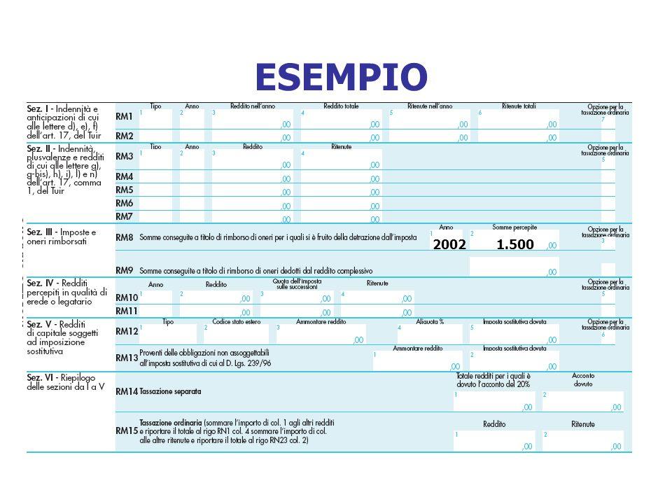 ESEMPIO 2002 1.500