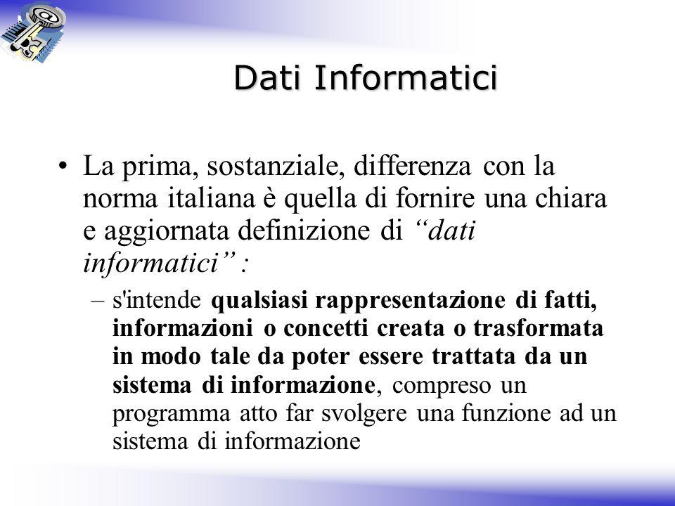 Dati Informatici