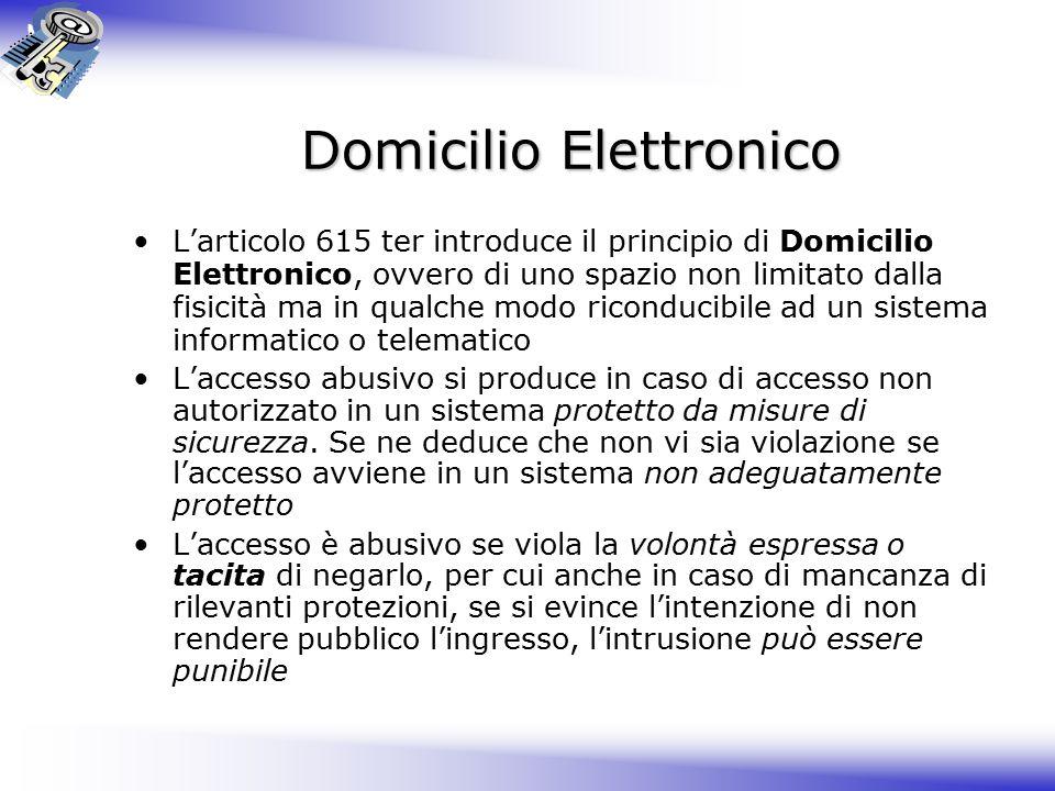Domicilio Elettronico
