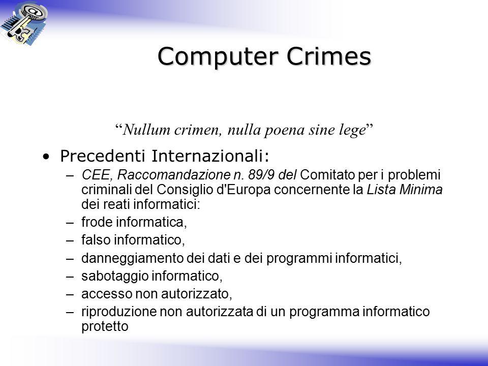Nullum crimen, nulla poena sine lege