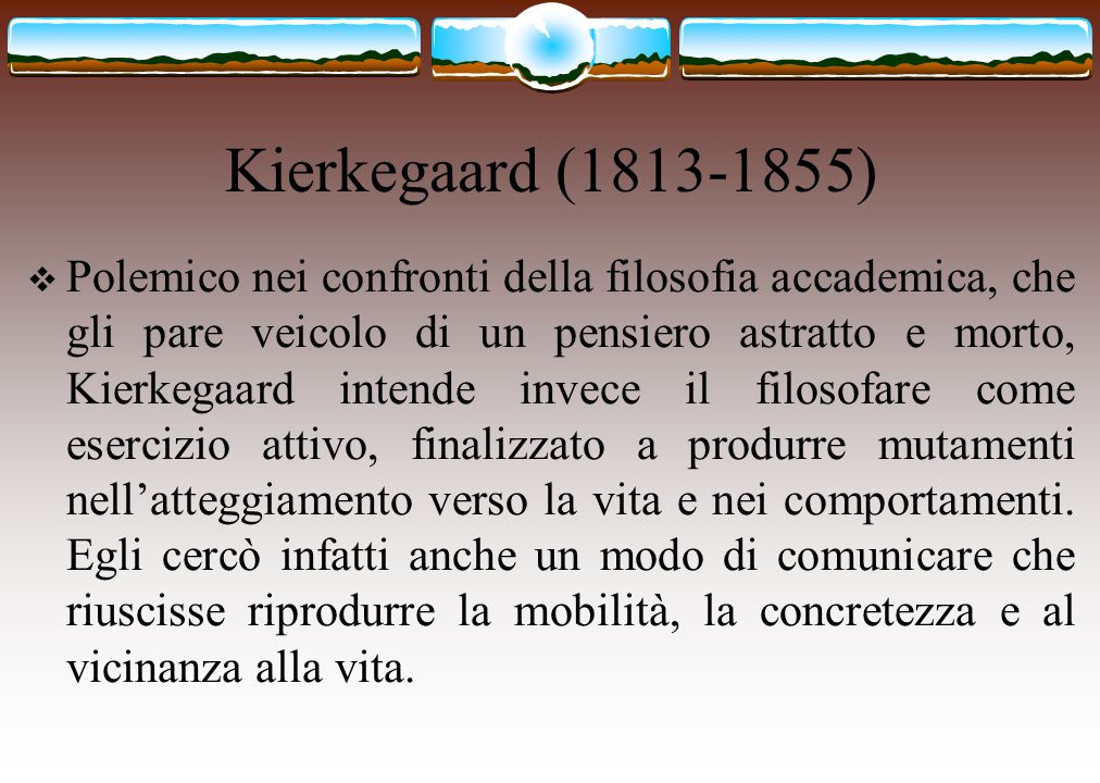 Kierkegaard (1813-1855)
