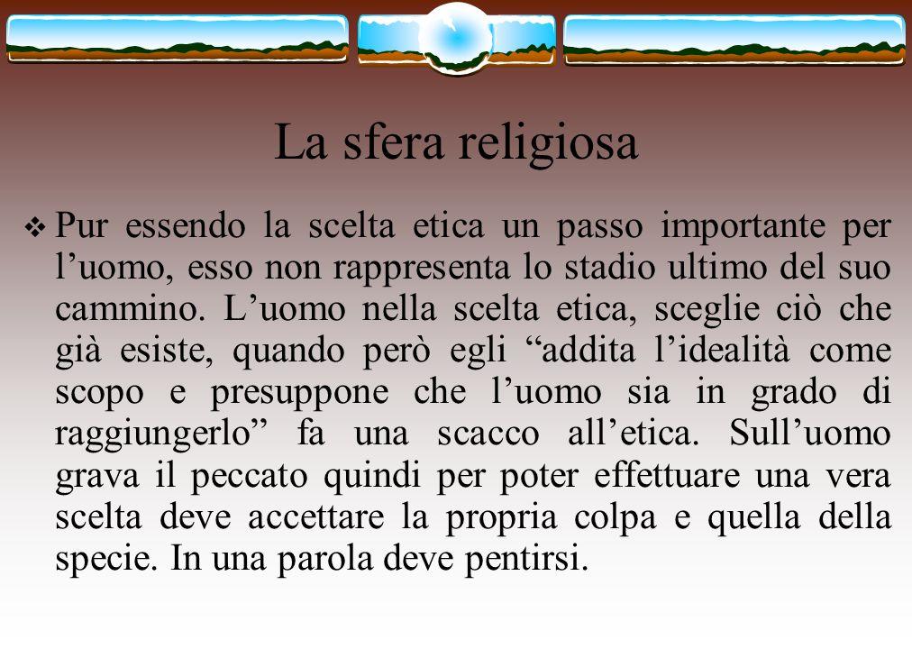 La sfera religiosa