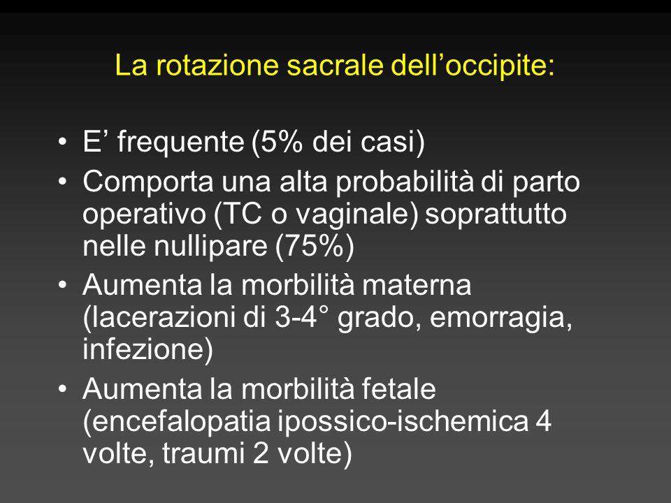 La rotazione sacrale dell'occipite: