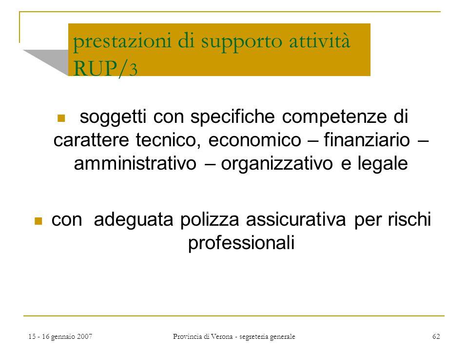 prestazioni di supporto attività RUP/3