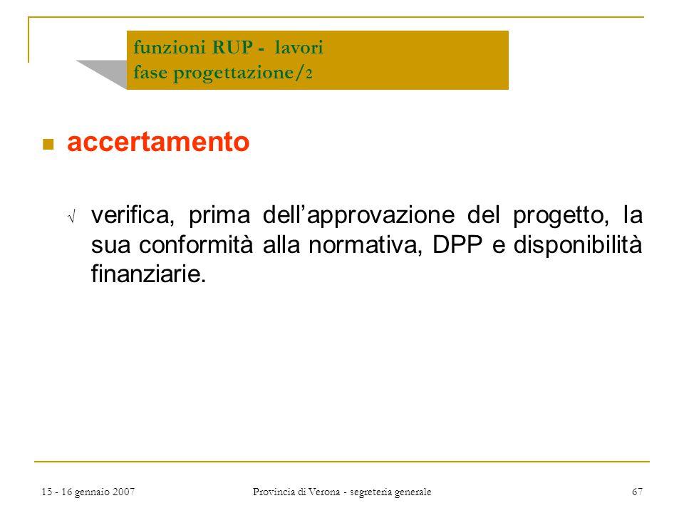 funzioni RUP - lavori fase progettazione/2