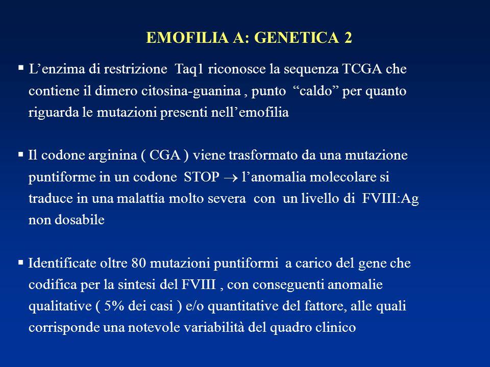 L'enzima di restrizione Taq1 riconosce la sequenza TCGA che