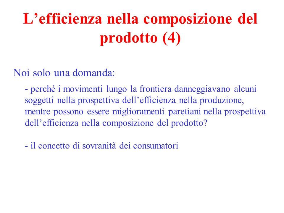 L'efficienza nella composizione del prodotto (4)