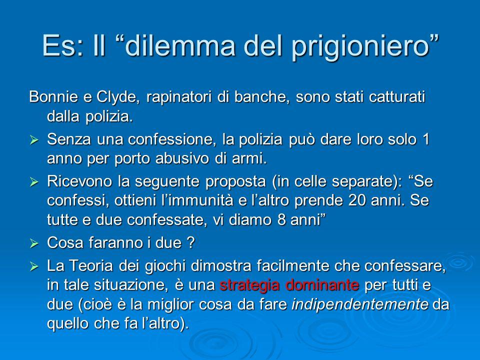 Es: Il dilemma del prigioniero