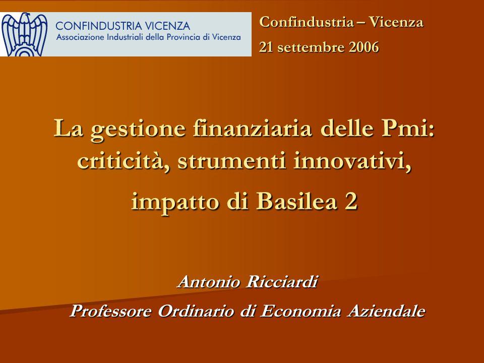 Antonio Ricciardi Professore Ordinario di Economia Aziendale