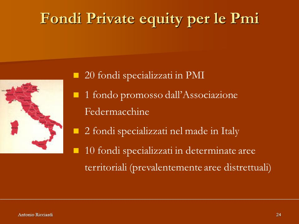 Fondi Private equity per le Pmi