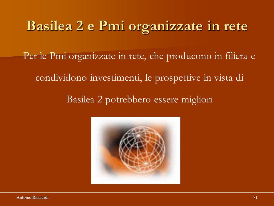 Basilea 2 e Pmi organizzate in rete