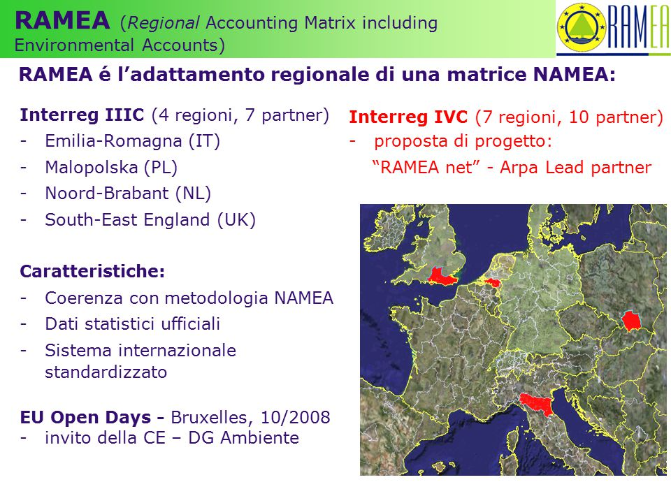 RAMEA (Regional Accounting Matrix including Environmental Accounts)