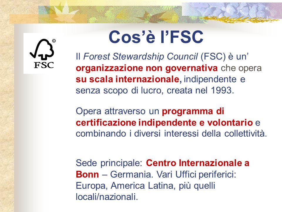 Cos'è l'FSC