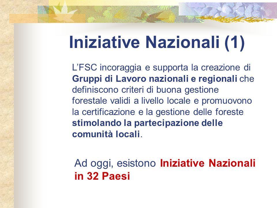 Iniziative Nazionali (1)