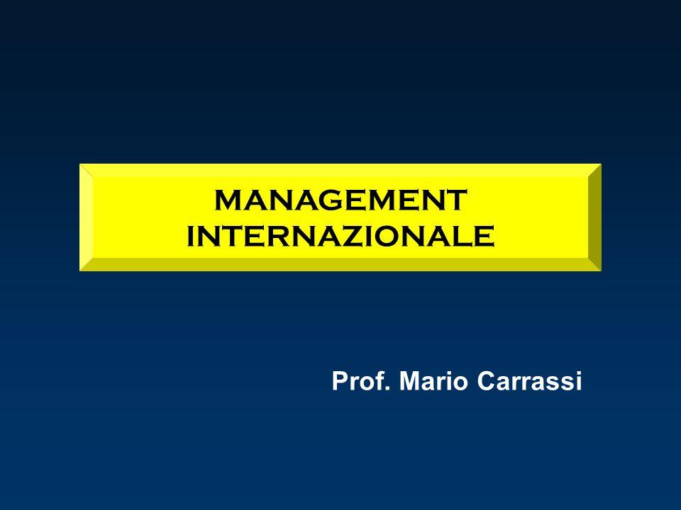 MANAGEMENT INTERNAZIONALE