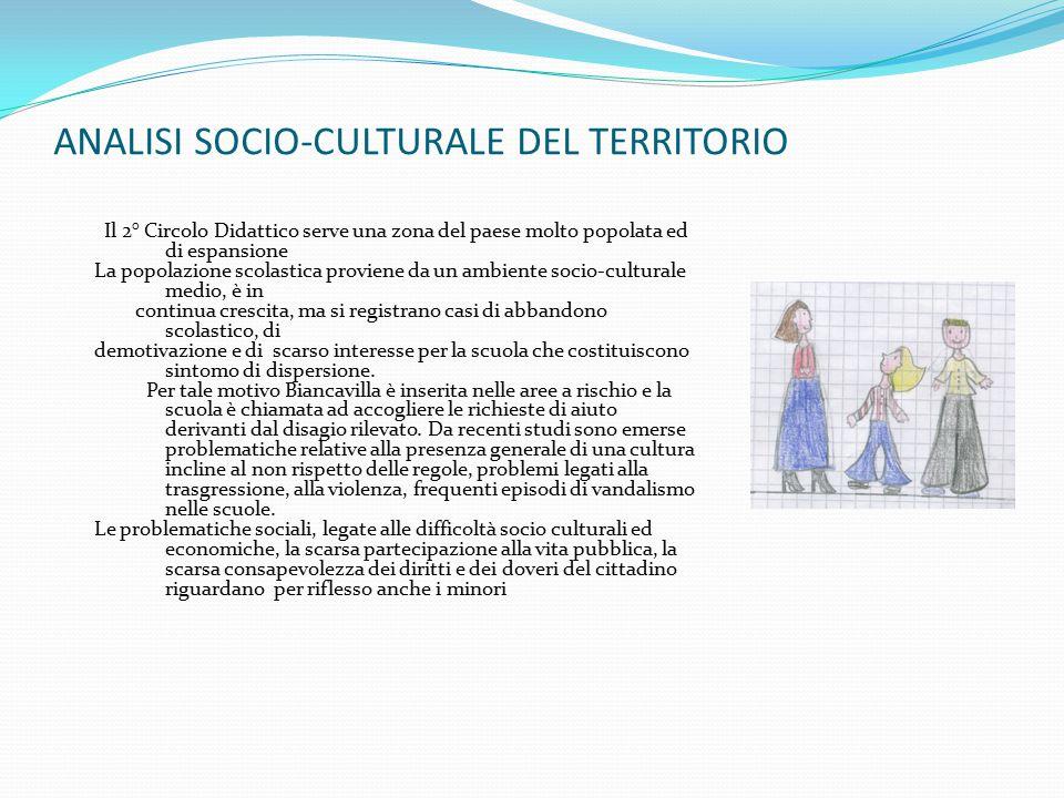 ANALISI SOCIO-CULTURALE DEL TERRITORIO