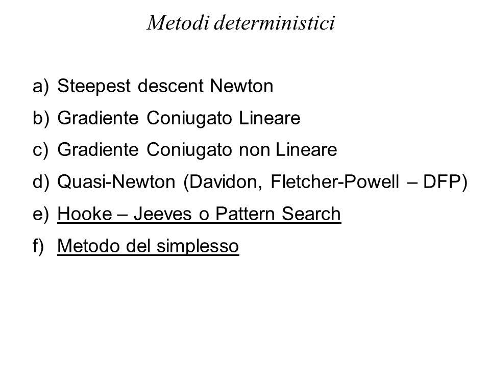 Metodi deterministici