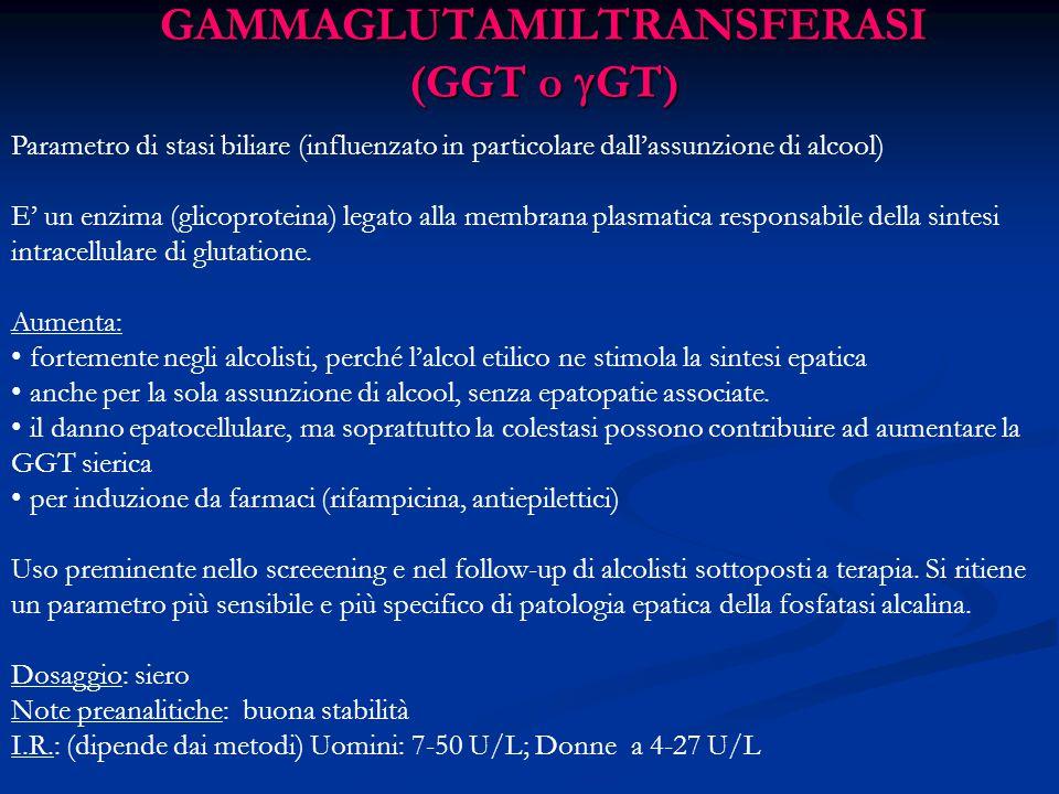 GAMMAGLUTAMILTRANSFERASI (GGT o GT)