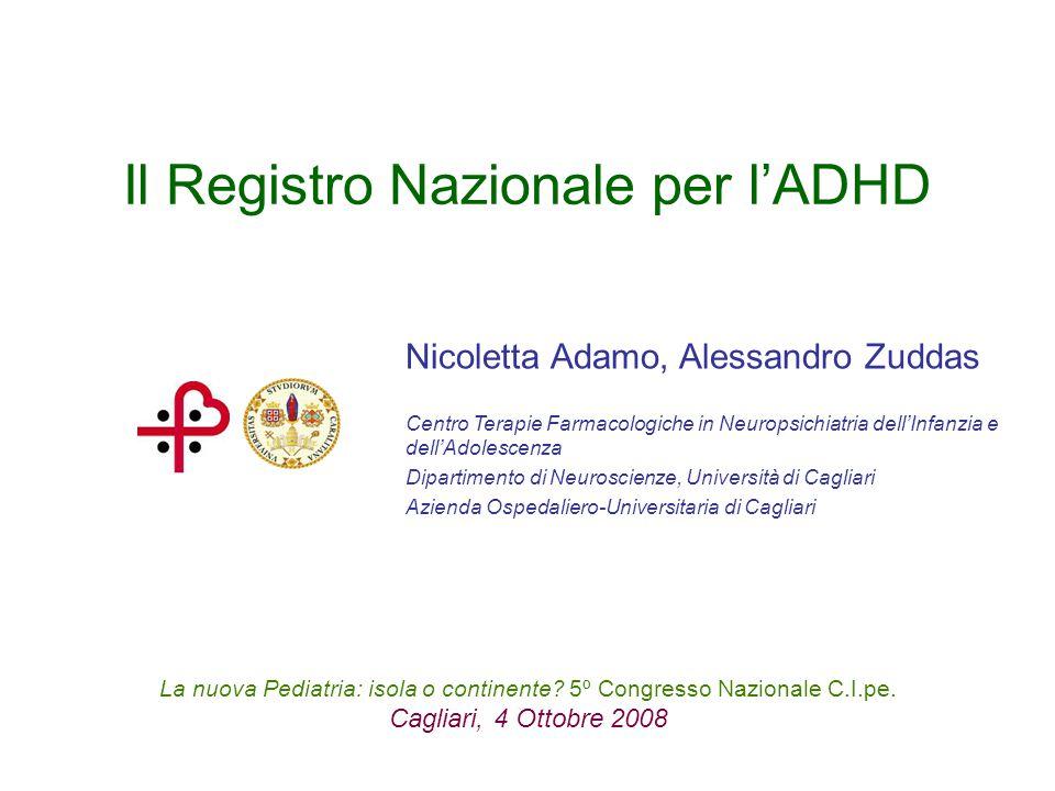 Il Registro Nazionale per l'ADHD