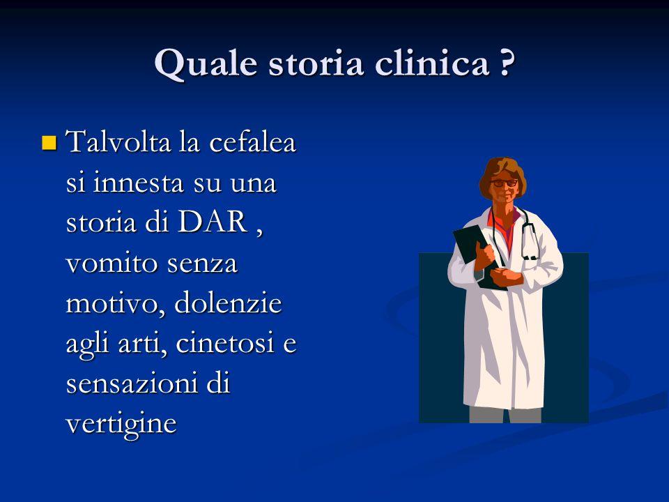 Quale storia clinica