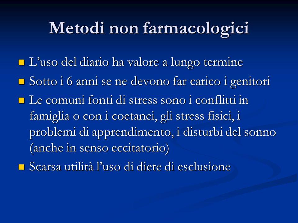 Metodi non farmacologici