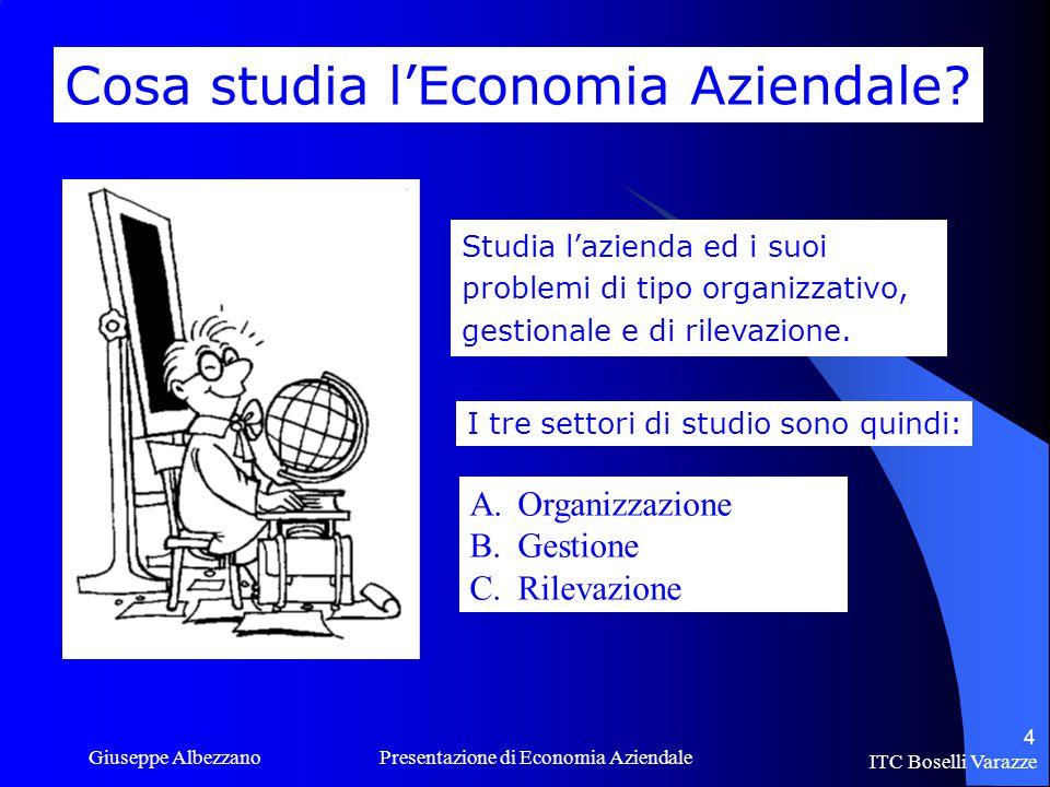 Cosa studia l'Economia Aziendale
