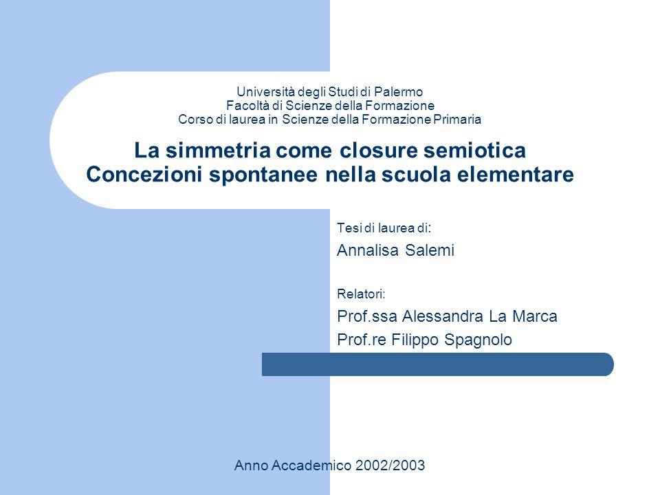 Prof.ssa Alessandra La Marca Prof.re Filippo Spagnolo
