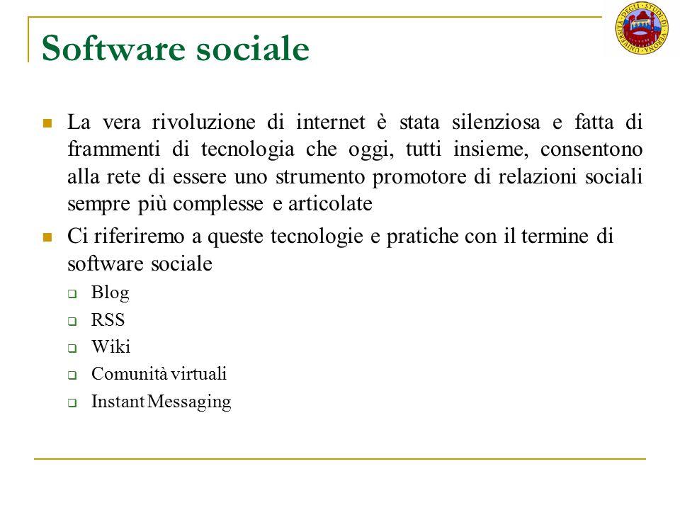 Software sociale