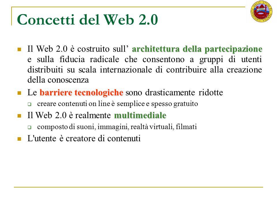 Concetti del Web 2.0